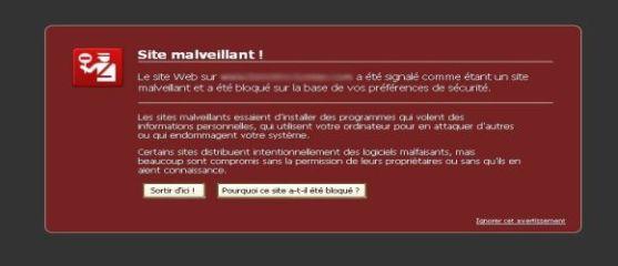 Site Malveillant