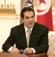 Mr le Président Zine El Abidine Ben Ali