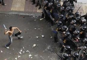 Manifestations en Egypte