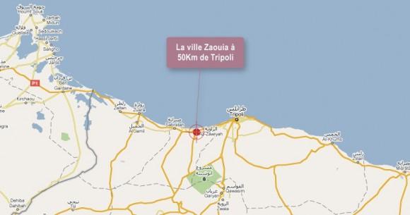 Zaouia - Ville libyenne à 50Km de la capitale Tripoli