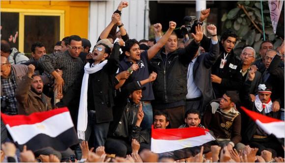 Hosni Moubarak : Dégage