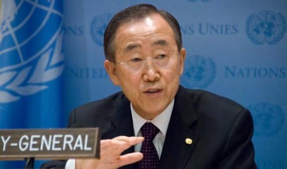Ban Ki Moon : secrétaire général des Nations Unies