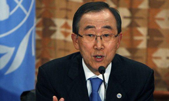 Ban Ki Moon - Secrétaire général des Nations Unies