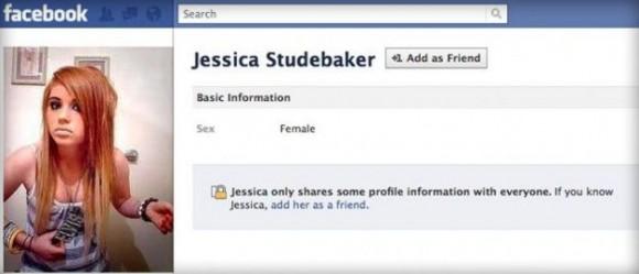Jessica Studebaker : le faux profil créé par Angela Voelkert
