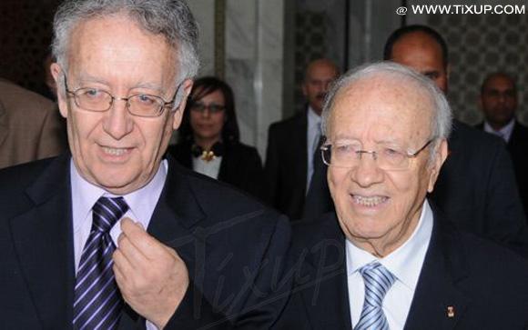 Yadh Ben Achour & Béji Caïd Essebsi