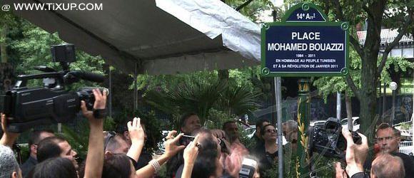Quand Mohamed Bouazizi devient un soldat français sacrifié