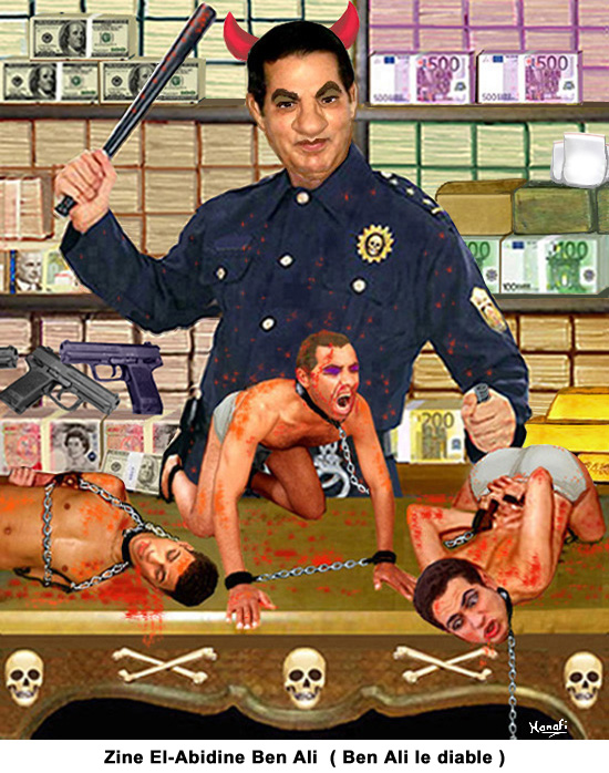 Zine El Abidine Ben Ali (Ben Ali le diable)
