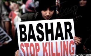 Syrie: Des centaines de syriens détenus dans un stade à Lattaquié