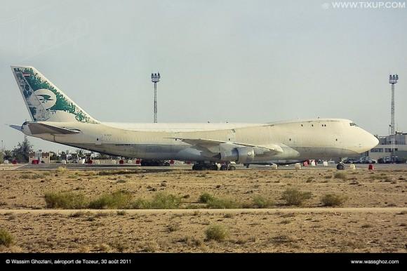 Boeing 747 irakien - Aéroport de Tozeur