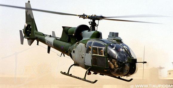 Tunisie: Crash d'un hélicoptère militaire causant deux morts
