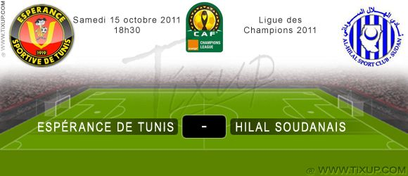 Espérance Sportive de Tunis - Hilal Soudanais