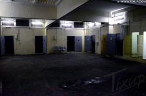 Cellules du sous-sol du Ministère de l'Intérieur