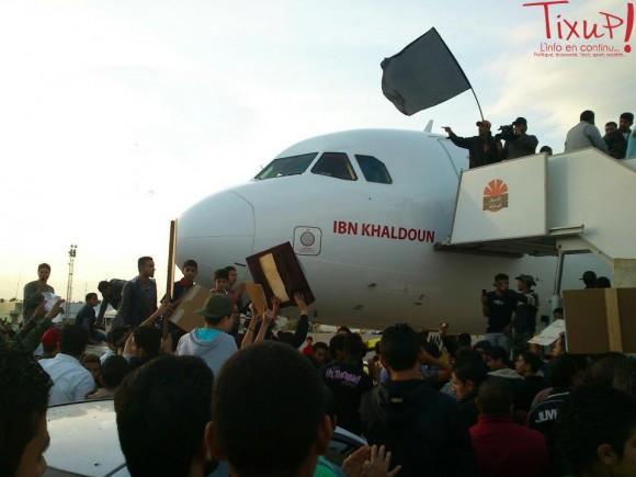 Avion Tunisair pris en otage à Tripoli