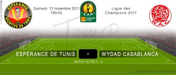 Espérance Sportive de Tunis Vs Wydad Athletic Casablanca