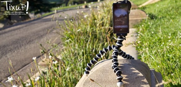 Trépied avec le Lens Dial pour iPhone 4(S)
