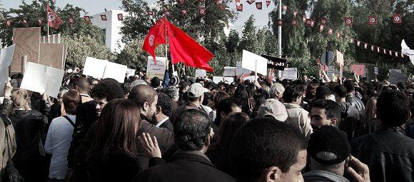 Manifestation - Bardo (Tunisie)