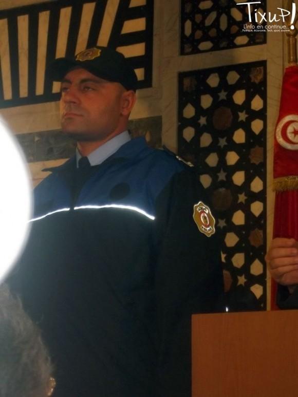 Police des frontières - tenue d'hiver