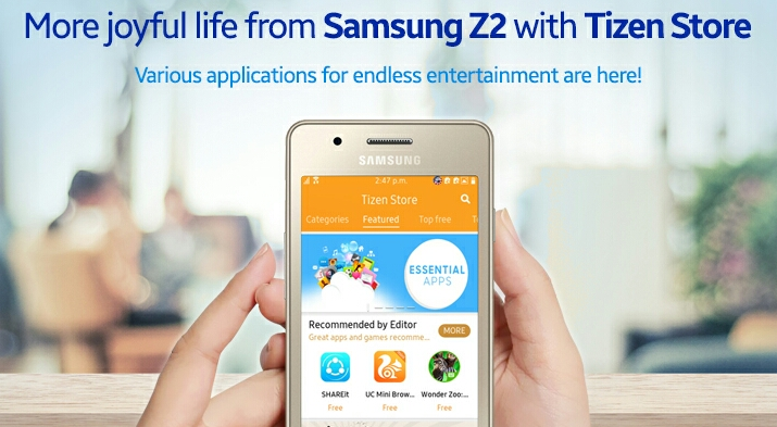 Tizen store tpk download for samsung z2