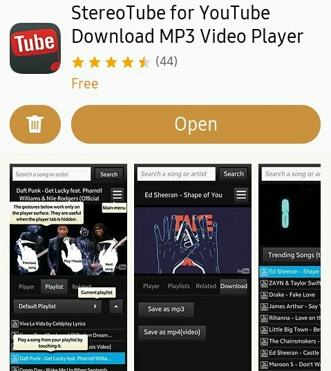 YouTube Downloader on Tizen