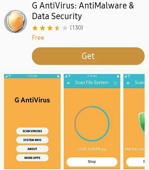 G Antivirus on Tizen