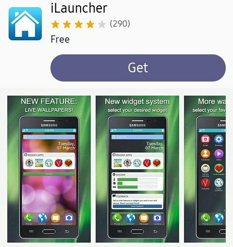 New Update For Ilauncher App Added New Wallpapers Tizen Help