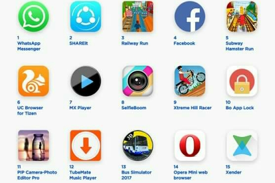 Top 100 Tizen Apps