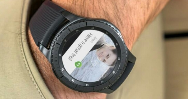 Android Wear on Gear S3