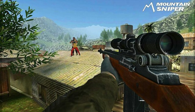 Mountain Sniper Jungle 3D