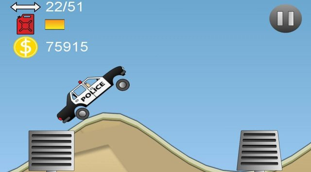 Hill Driver on Tizen