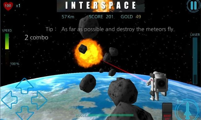 Interspace on Tizen