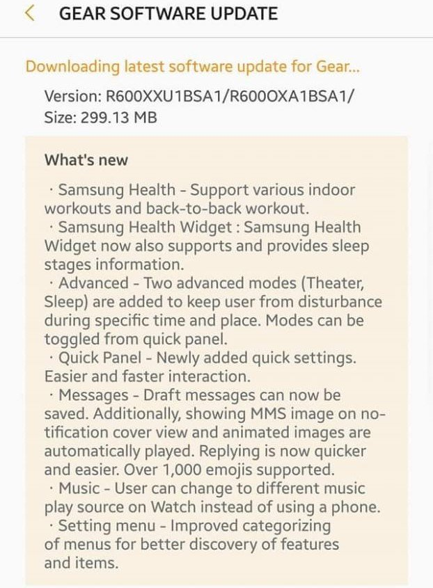 Samsung Gear S3 Received Massive Tizen 4 0 Update - TizenHelp