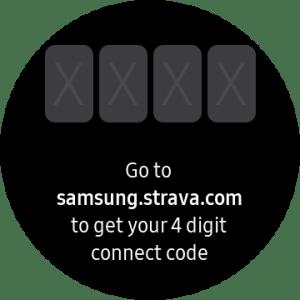 Strava App Galaxy Watch