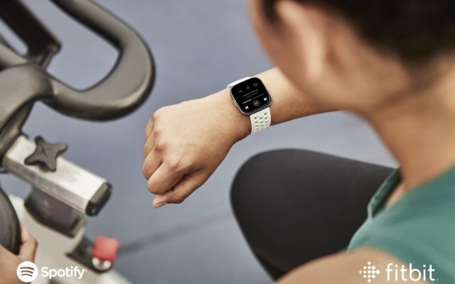 Spotify on Fitbit