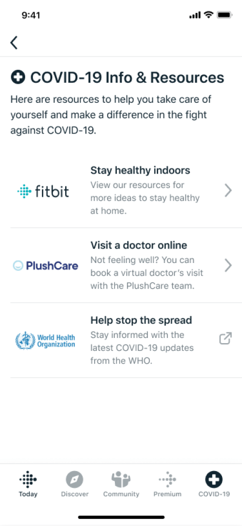 Fitbit Services