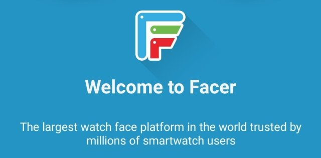 Facer on Apple Watch