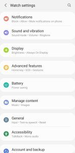 WhatsApp on Galaxy Watch 4