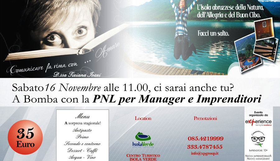 PNL per Manager e Imprenditori – 16/11/13 – Bomba