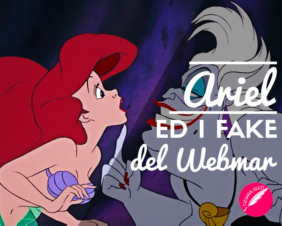 Ariel e i fake del web…mar