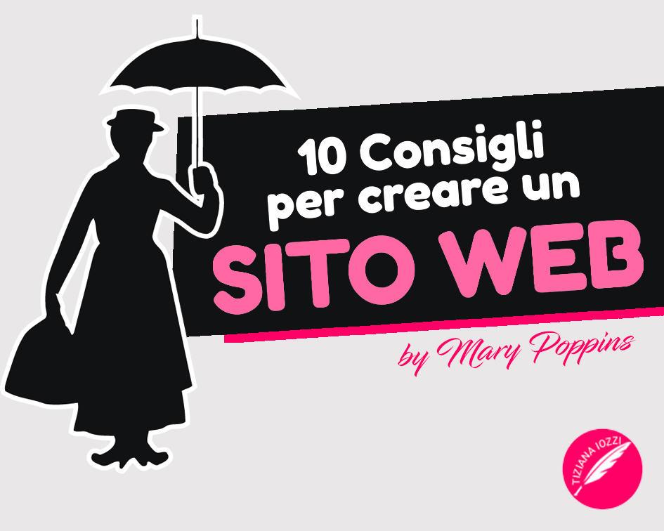 10 consigli da Mary Poppins per creare un sito web