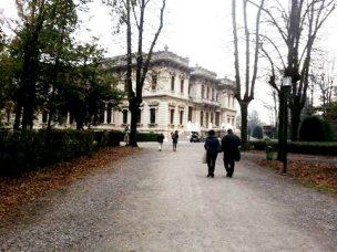 Entrance Villa Mazzotti
