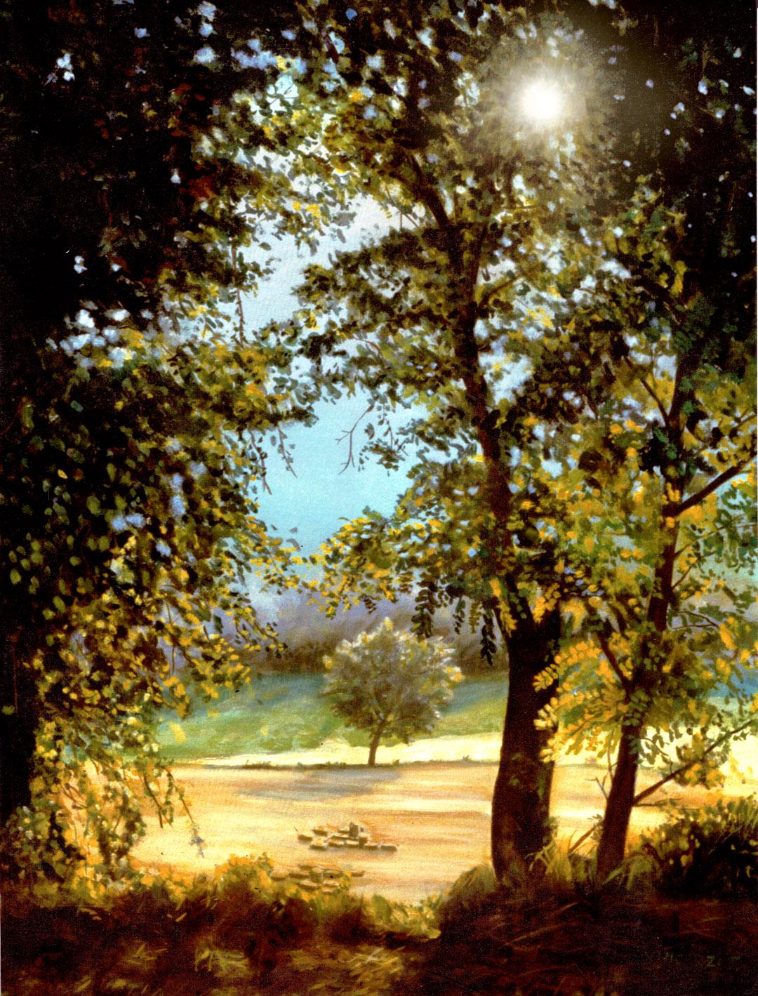 quadri ad Olio Paesaggi Naturalistici classici e Impressionisti