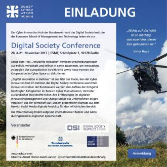 Digital Society Conference Berlin