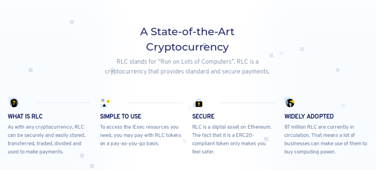 """The RLC cryptocurrency stands for """"Run on Lots of Computers"""""""