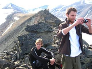 Ole Christian (NO) og Frederik(NO) på toppen