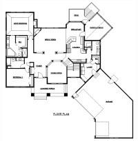 Rambler Floor Plans   Plan #200318   TJB Homes