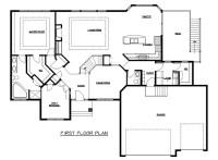 Rambler Floor Plans   Plan #204185   TJB Homes