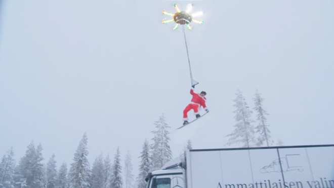 can a drone carry a person