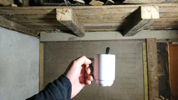 Kaffe i fjøset