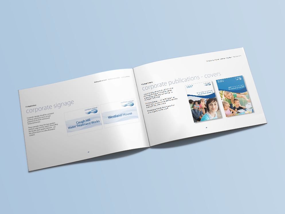 Northern Ireland Water brand book