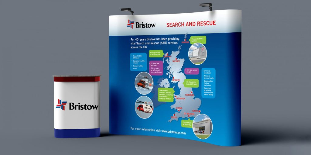 Bristow | Search and Rescue display